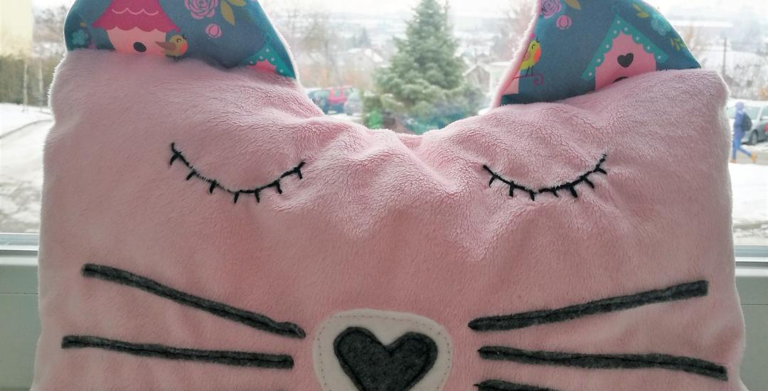 Poduszka kot – pomysł na prezent