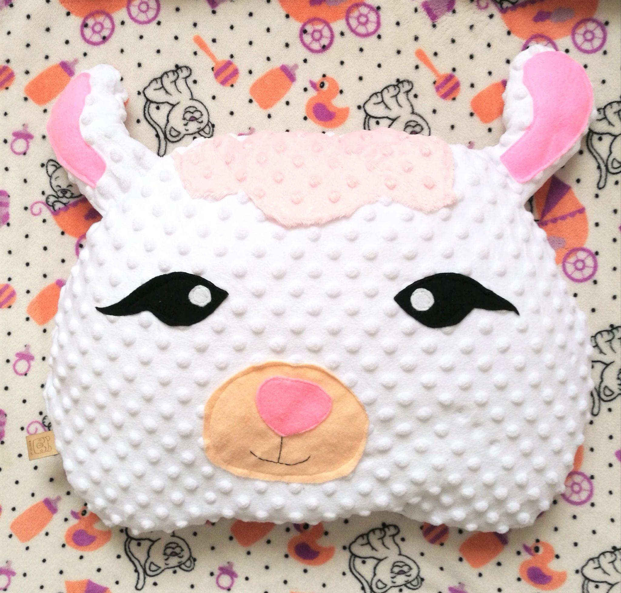 Jak uszyć poduszkę owcę?