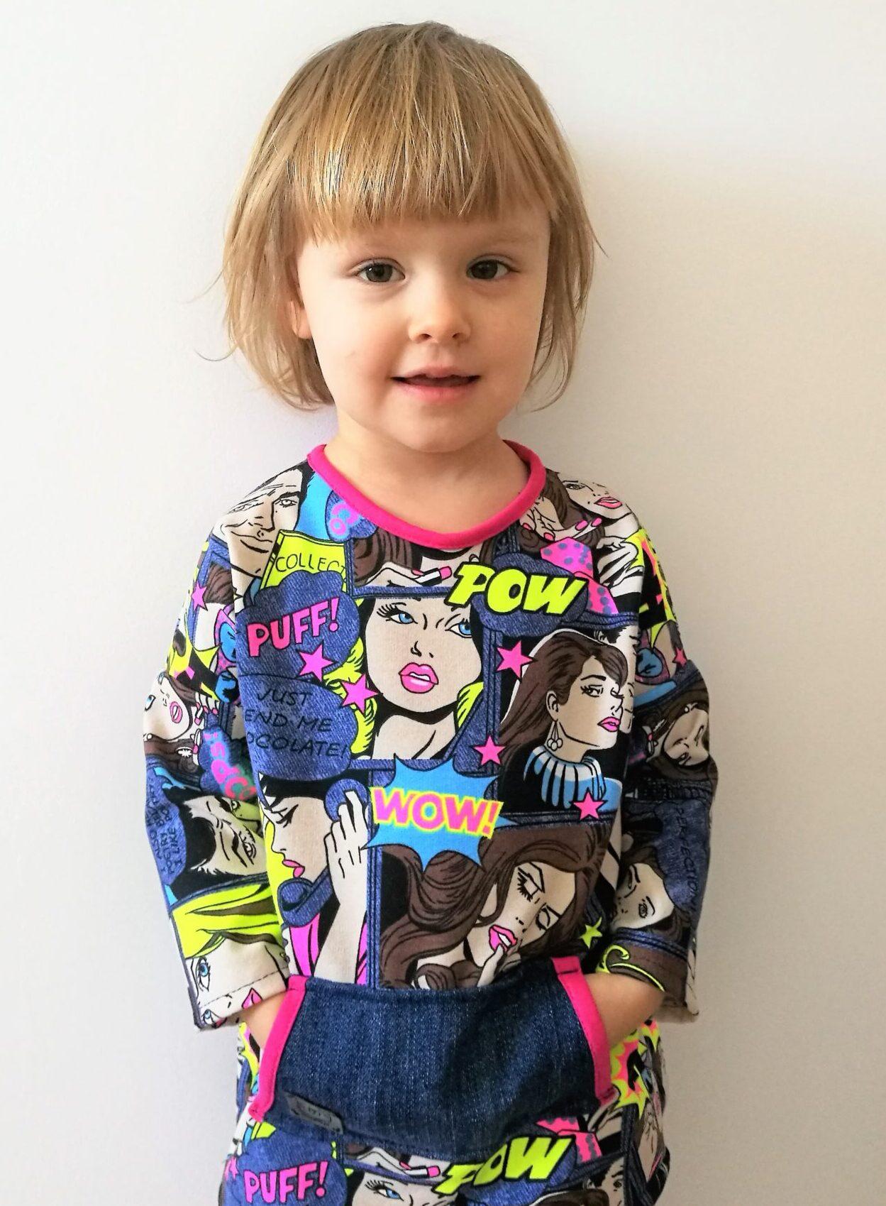 Tunika dla dziewczynki